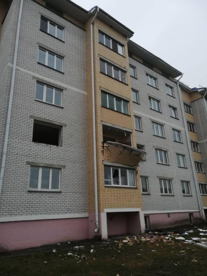 Взрыв произошел в квартире в Дрогичине, есть пострадавшие