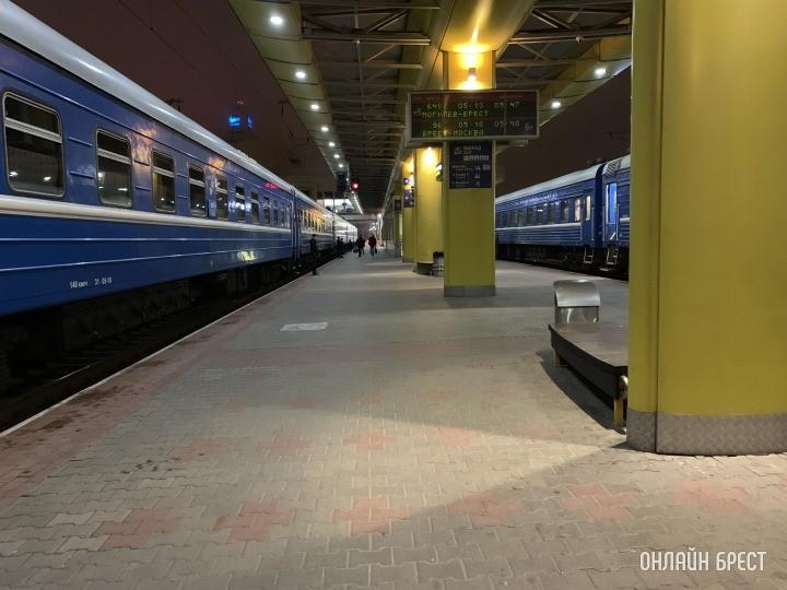 ЖД Вокзал в Бресте