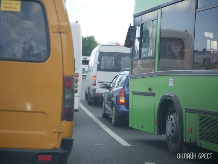 Автобус, маршрутка, Брест, дорога