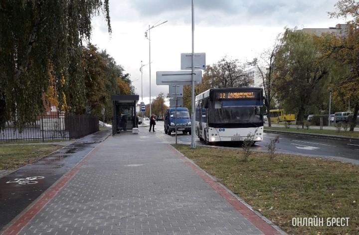 Автобус в Бресте